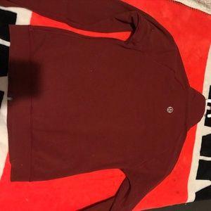 Red Lululemon Sweater